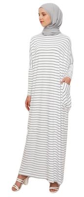 JSDC Long Printed Occasion Wear Regular Fit Stretchable Women Kaftan