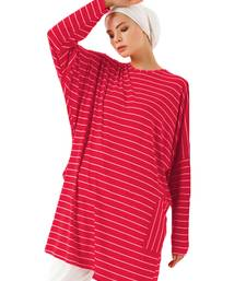 JSDC Printed Organic Jersey Stretchable Women Short Kaftan Tunic