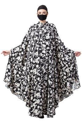Musheco-Printed Irani Kaftan-Not An Abaya