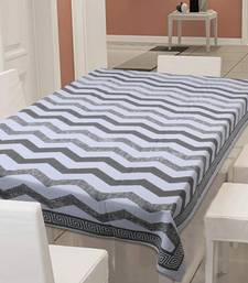 TEXSTYLERS Heavy Thick Cotton Canvas 200 TC Block Printed Table Cloth Cover