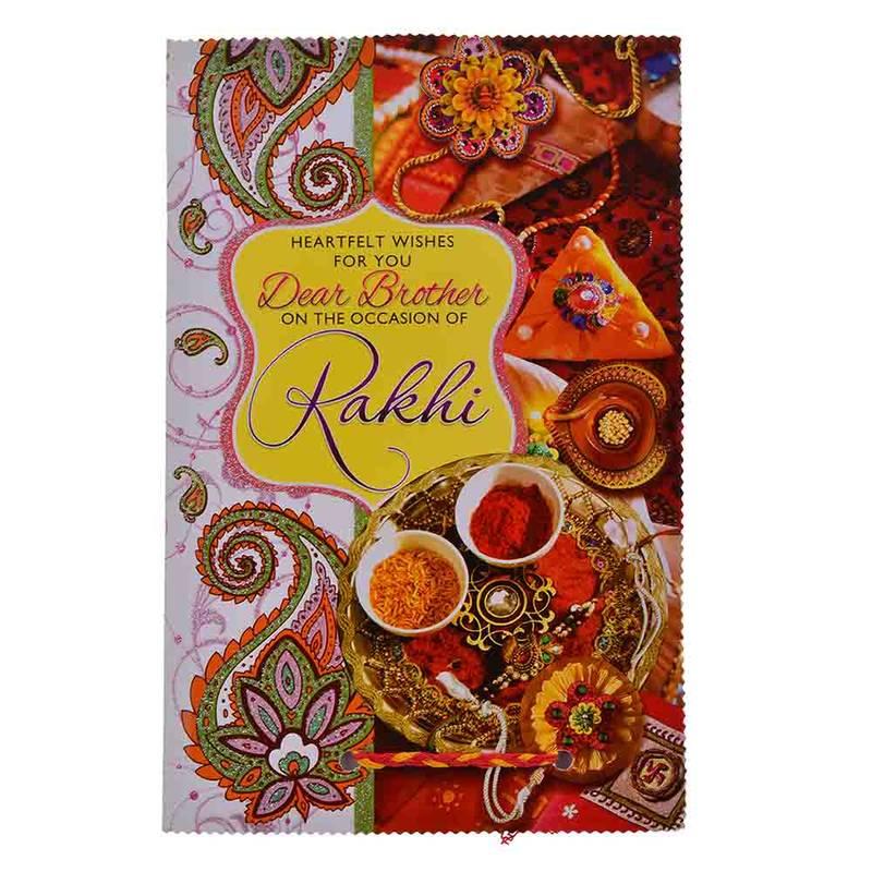 Buy designer jaipuri silver rakhi n greeting card gift online jaipuri silver rakhi n greeting card gift kristyandbryce Choice Image
