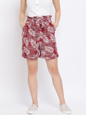 Tropical Branch Women Shorts