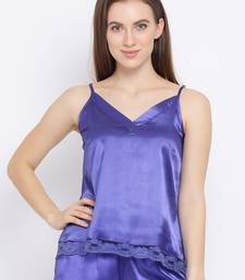Ocean Fairy Nightwear Women Satin Cami