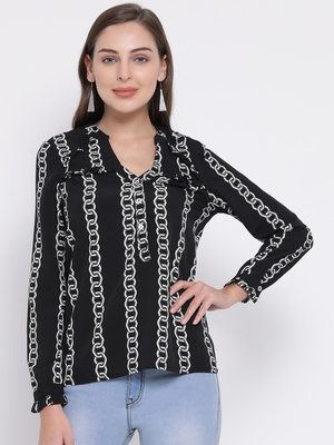 Chain Letty Glam Women Top