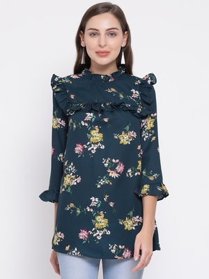 Floral Octave Maternity Women Top
