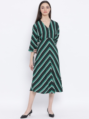 Chevron Official Diva Midi Women Dress