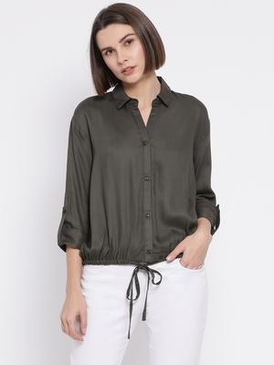 Olive Penchata Lusinka Women Shirt