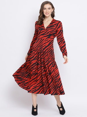 Wave Donte Maxi Women Dress