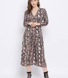 Abstract Benni Maxi Women Dress