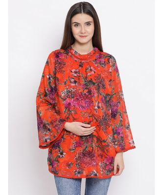 Classified Tropical Maternity Women Top