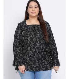 Floral Pacific Plus Size Women Top