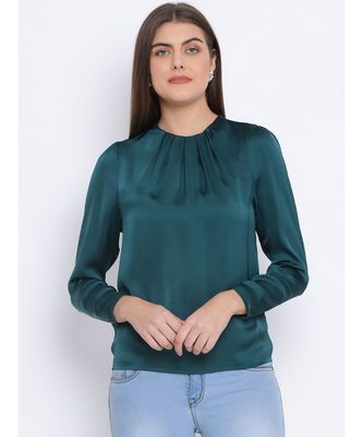Forest Green Mia Women Top
