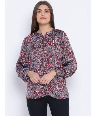 Paisley Power Classy Women Shirt