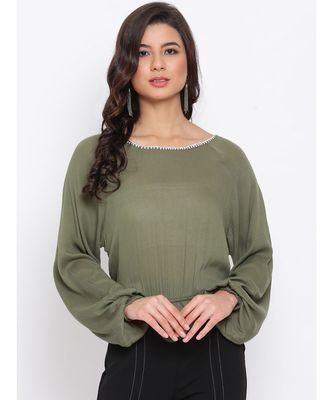 Green Passion Women Top