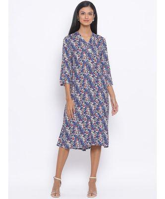 Blossom Rebecca Midi Women Dress