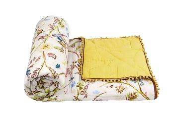 100% Cotton Riversable Jaipuri Quilt size(90X100)