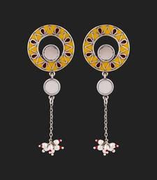Rabaari Mirrored Tassel Earrings