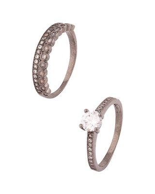 CZ Embellished Stackable Rings