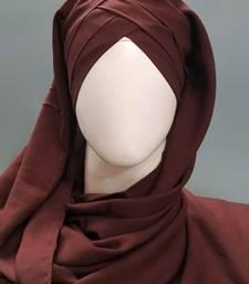 Hijab World 3 Layers Turban Style Hijab