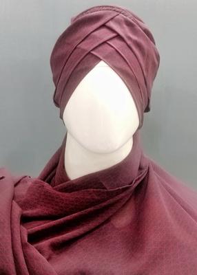 Hijab World 3 Layers Turban Style Hijab