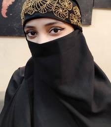 Hijab World Hand Embroidered Halime Sultan Ready To Wear Hijab