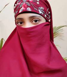 Hijab World Hand Embroidered Halime Sultan Ready To Wear Hijab