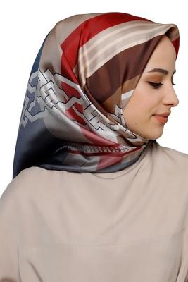 Women's Modest Wear Crepe Silk Printed Scarf Hijab Dupatta