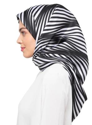 JSDC Women's Crepe Silk Animal Printed Scarf Hijab Dupatta