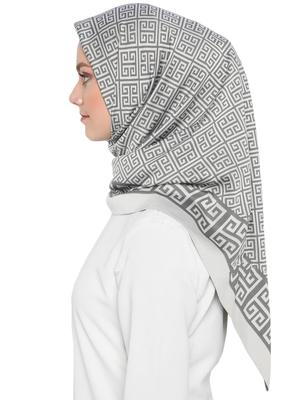 JSDC Women's Daily Wear Crepe Silk Printed Square Hijab Stole Dupatta