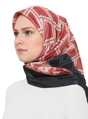 JSDC Women's Outdoor Wear Crepe Silk Printed Square Stole Dupatta