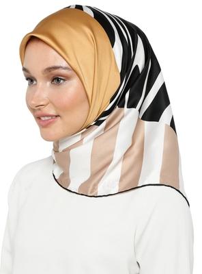JSDC Women's Occasion Wear Crepe Silk Printed Hijab Scarf Dupatta