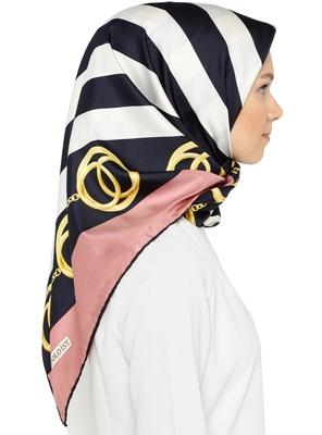 JSDC Women's Daily Wear Silk Crepe Printed Hijab Scarf Dupatta
