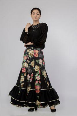 Thalia Block Skirt