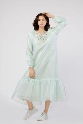 Thea Sheer Maxi Dress