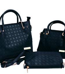 BFC-Stylish Top handel Three Bag Combo Set For Woman(3 bag set)