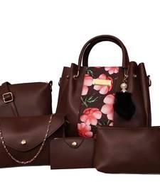 BFC-Stylish Top handel Five Bag Combo Set For Woman(5bag set)