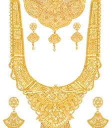 Gold mother of pearl designer-jewellery