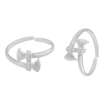Plain Silver Toe Ring-TOER091