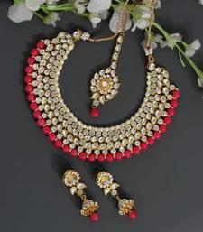 Orange necklace-sets
