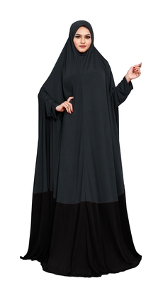 JSDC Plain Umbrella Long Flairs Style Hosiery Lycra Women Abaya Burkha Burqa