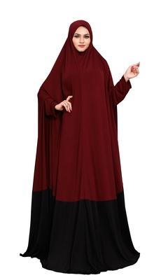 JSDC Outdoor Wear Plain Umbrella Long Flairs Style Hosiery Lycra Women Abaya Burkha Burqa