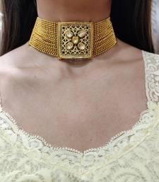 Golden Choker Necklace