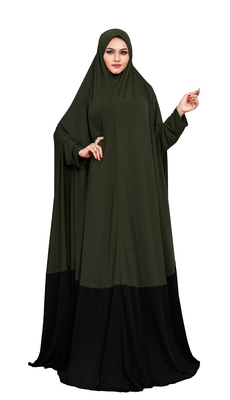 JSDC Plain Umbrella Long Flairs Style MOdest Wear Hosiery Lycra Women Abaya Burkha Burqa