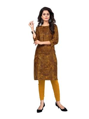 Wedani Multicolor cotton Stright kurti