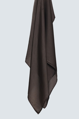 Brown Satin Hijab