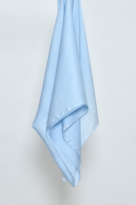 Light Blue Satin Hijab