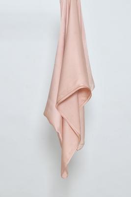Peach Satin Hijab