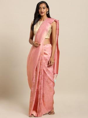 Pure Dola Silk Peacock Design Hand Dyed Banarasi Pure Silk Saree