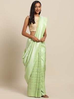 Pure Dola Silk Horse Design Hand Dyed Banarasi Pure Silk Saree