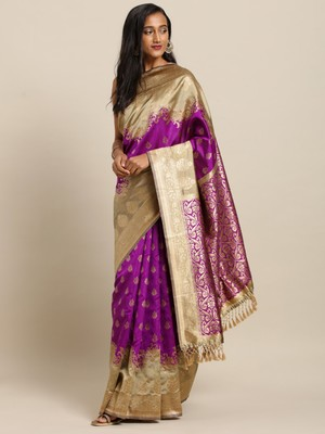 New Banarasi Kanjiwaram Bahurani Soft Silk Saree